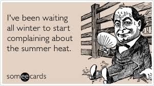 Funny Seasonal Ecard: I've been waiting all winter to start ... via Relatably.com