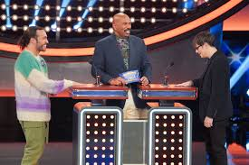 Watch Weezer and <b>Fall Out Boy</b> Compete on 'Celebrity Family Feud ...
