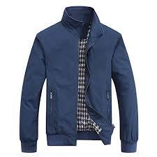 Buy HANGON <b>Spring Autumn</b> Casual Solid Fashion Slim Bomber ...