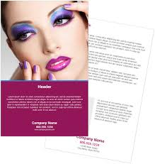 make up artist flyers youprint com make up artist flyers