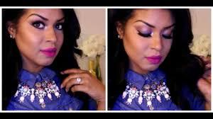 Winter Glam | <b>MAC Flat out</b> fabulous Lipstick | Pretty in pink Makeup