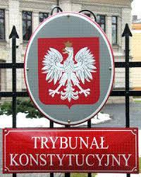 Znalezione obrazy dla zapytania Trybunału Konstytucyjnego
