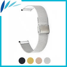 <b>Milanese</b> Stainless Steel Watch Band 16mm <b>18mm 20mm 22mm</b> for ...