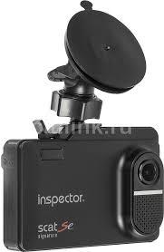 <b>Видеорегистратор</b> с радар-детектором <b>INSPECTOR Scat Se</b>