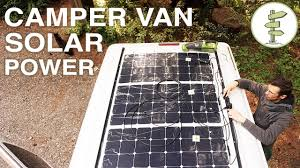 Van Life - Our Amazing Stealth Solar Power Set up! Off Grid Camper ...