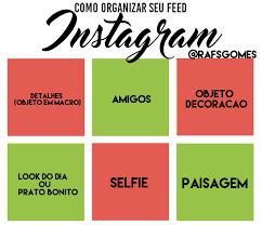 Resultado de imagem para feed organizado do instagram