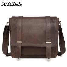 Buy shoulder bag <b>crazy horse leather</b> casual and get free shipping ...