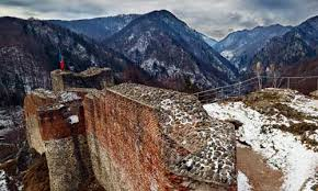 Image result for poenari fortress