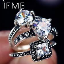 3 Pcs/set <b>Vintage</b> Heart Peach Shape Finger Knuckle Midi Ring Set ...