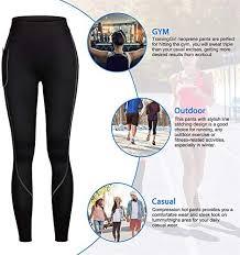 Women <b>Weight Loss</b> Hot <b>Neoprene</b> Sauna Sweat <b>Pants</b> with Side ...