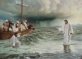 Resultado de imagem para pedro andou sobre as aguas