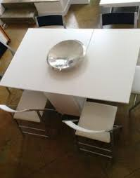 white folding dining table chairs youtube