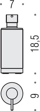 Дозатор <b>Colombo Design</b> Nordic B9324.0CR-CBO белый купить в ...