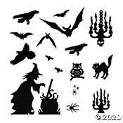 <b>Halloween Spider Decorations</b> & Party Supplies