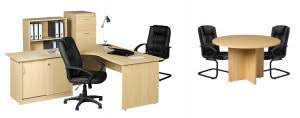 desk set with meeting table bfs office furniture