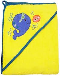 <b>Детское полотенце Baby</b> Mix Китенок с <b>уголком</b> 100х100 см ...
