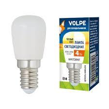 <b>Лампа</b> светодиодная (UL-00006501) <b>Volpe E14 4W 3000K</b> ...