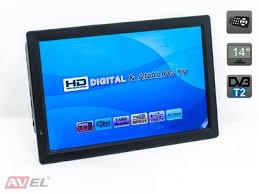 Портативные <b>цифровые</b> телевизоры DVB-T2
