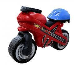 <b>Каталка Coloma мотоцикл MOTO</b> MX со шлемом - Акушерство.Ru