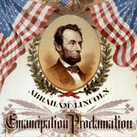 Resultat d'imatges de emancipation a lincoln