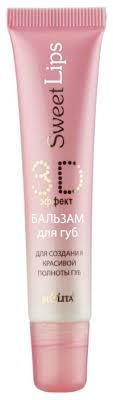 Bielita <b>Бальзам для губ Sweet</b> lips 3D-эффект — купить по ...