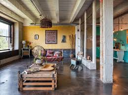 images metal building living eclectic living room with built in bookshelf vintage metal and wood st