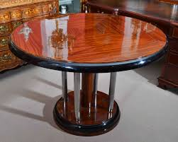 stunning art deco rosewood round dining table art deco rosewood dining