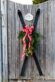 35 Amazing Vintage <b>Ski</b> and Ice Skates <b>Decorations</b> | <b>Christmas</b> ...