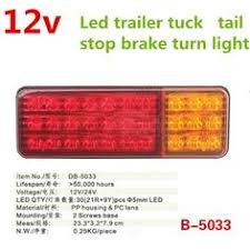 10x 6 LED Trailer Indicator <b>Side</b> Marker Bus Clearance Lamp <b>12V</b> ...