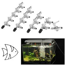 4mm <b>Stainless Steel Fish Tank</b> Air Flow Tube Airpump Splitter Pipe ...