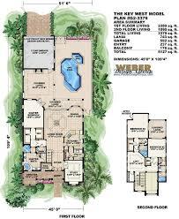 Key West House Plan   Florida House Plan   Weber Design GroupKey West House Plan