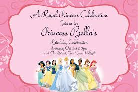 disney princesses birthday invitations disney princess birthday disney princess birthday invitations uk