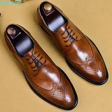<b>QYFCIOUFU 2019</b> New Men Dress Shoes Genuine Leather Male ...