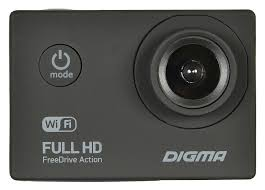 <b>Видеорегистратор Digma FreeDrive Action</b> Full HD WiFi (черный)