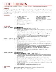 assistant teaching assistant resume sample photos of template teaching assistant resume sample
