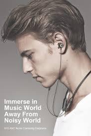 Baseus S15 Wireless Earphone Active Noise Cancelling <b>Bluetooth</b> ...