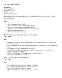 driver sample resume truck  seangarrette co  truck driver resume  truck driver resume   driver sample resume truck