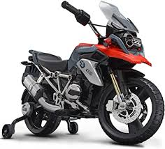 ROLLPLAY <b>electric motorcycle</b>, with training wheels, for <b>children</b> ...