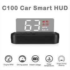 <b>C100 Universal Car</b> LED OBD II HUD Head-up <b>Display</b> Water ...
