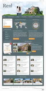 real estate product directory joomla template joomla monster dj real estate02 dark2 color version