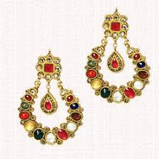 Star <b>Face Gold Earrings</b> for Baby and Children - R.N Payal, Agra | ID ...