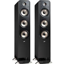 Купить <b>Напольные</b> колонки <b>Polk Audio</b> Signature S60 E Black в ...