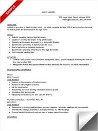 paralegal resume example   paralegal  resume and resume exampleslegal assistant resume sample