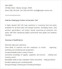 chef resume template –    free samples  examples  psd format    chef resume template free downlaod