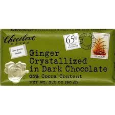 Chocolove <b>Ginger Crystallized In Dark</b> Chocolate | Greenfield