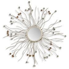 wall decor sunburst mirror