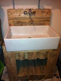 meuble buanderie 597x800 pallet sink in pallet furniture pallet bathroom ideas with sink pallets bathroom furniture pallets