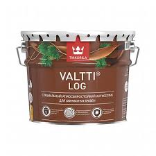<b>Антисептик Tikkurila Valtti Log</b> EC 9 л для стен, забора, дверей ...