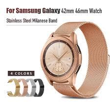 <b>20mm 22mm</b> Width <b>Stainless Steel</b> Band for Samsung Galaxy Watch ...