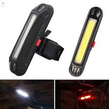 LL COB Rear <b>Bike</b> Light Taillight Safety Warning USB Rechargeable ...